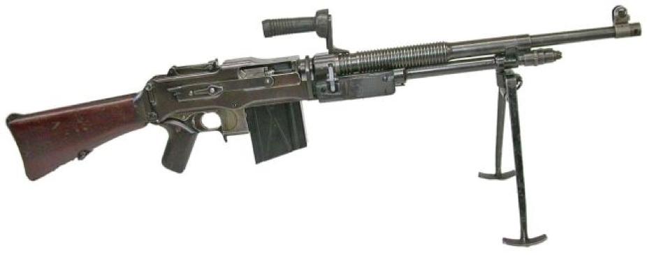 Ручной пулемет FN model D