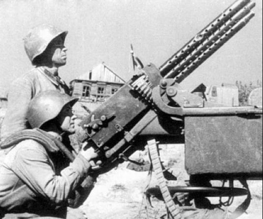 Зенитная установка на базе ПВ-1