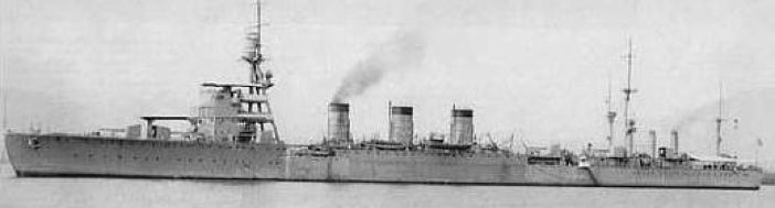 Легкий крейсер «Nagara»