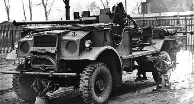 Зенитная пушка на базе Ford F-60В