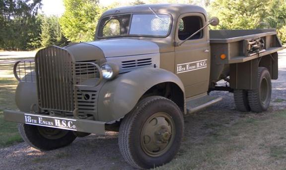 Бортовой грузовик Dodge VF-401
