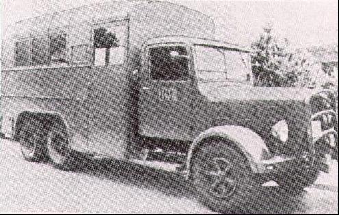 Грузовик  FBW - 60