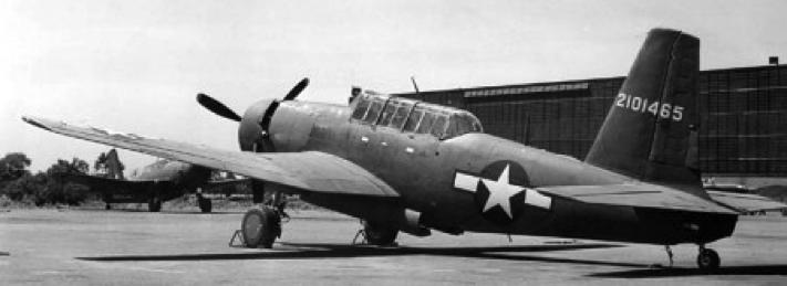 Штурмовик A-35В Vengeance