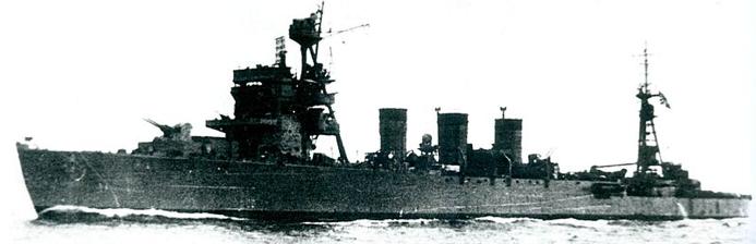 Легкий крейсер «Isuzu»