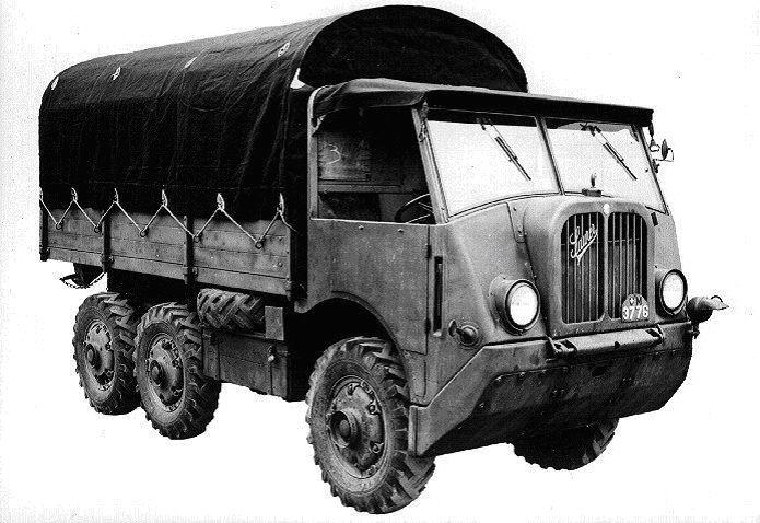 Грузовик Saurer М-6