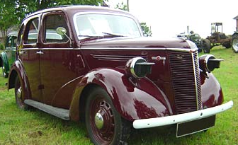 Автомобиль Ford Prefect 10-HP (E93A)