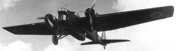 Бомбардировщик Amiot 140