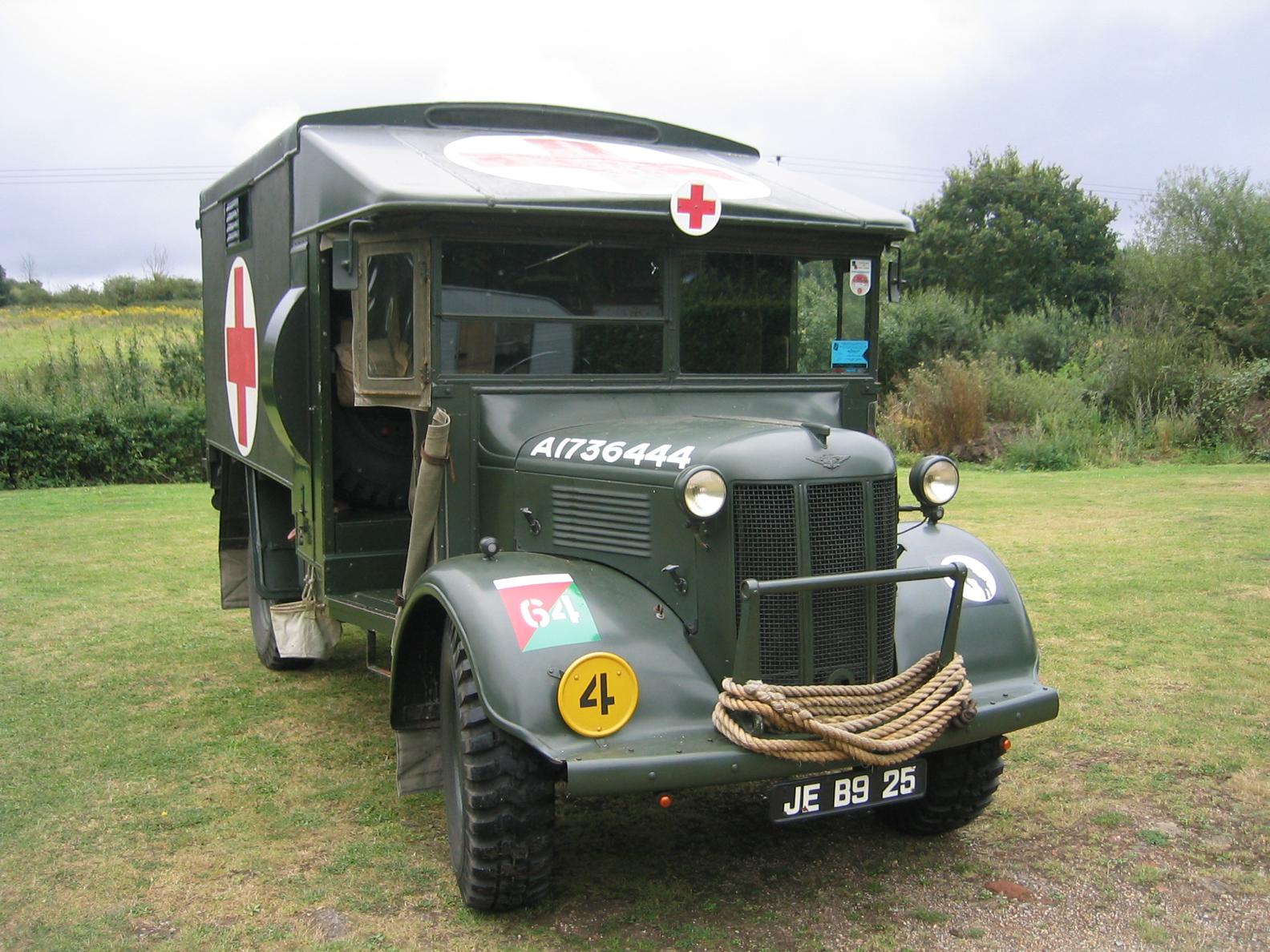 Санитарная машина Austin К-2