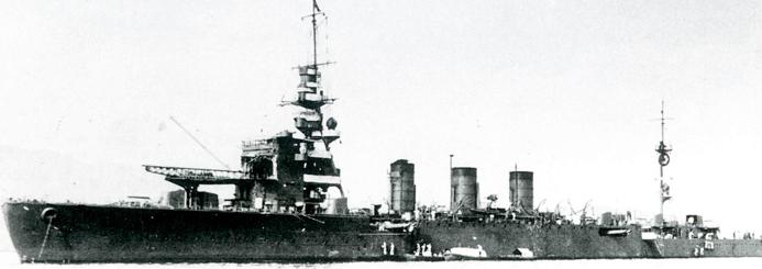 Легкий крейсер «Kinu»
