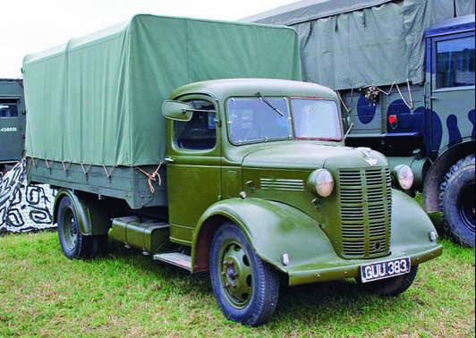Бортовой грузовик Austin К-2