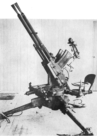Крупнокалиберный зенитный пулемет 13,2 mm Туре 93