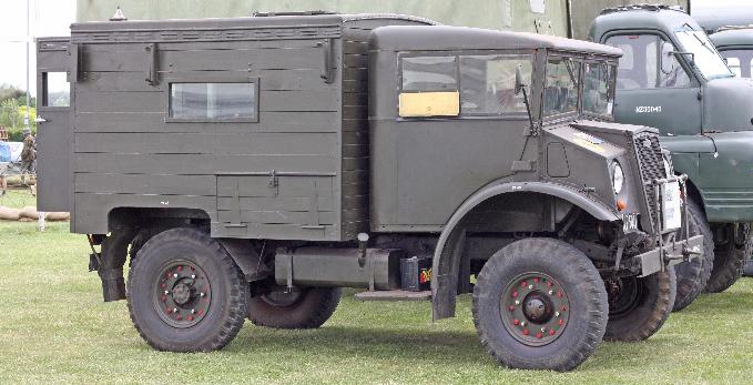 Фургон радиостанции Chevrolet С-8А