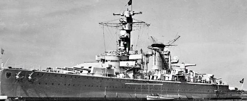 Тяжелый крейсер «Deutschland» (Lützow)