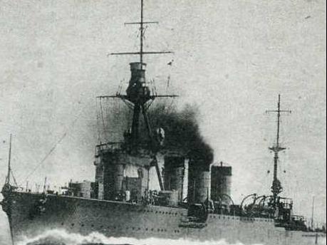 Легкий крейсер «Yura»