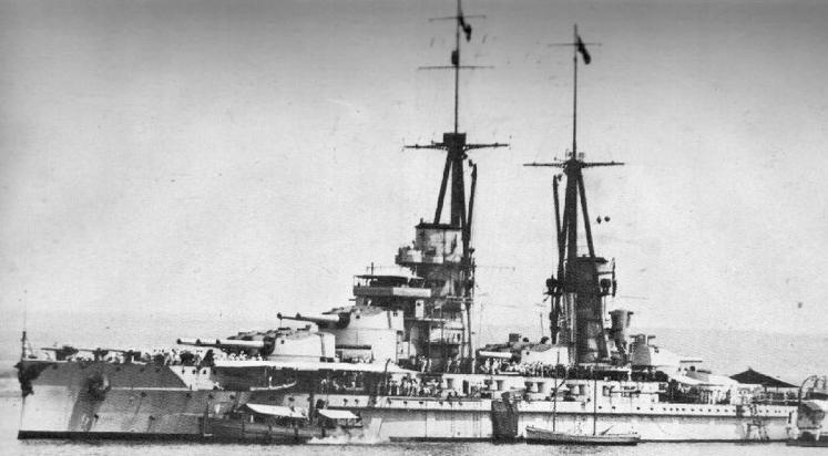 Линейный корабль  «Giulio Cesare»