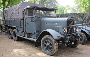 Грузовик Henschel-33-G1
