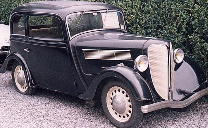 Седан Rosengart LR-4 №2
