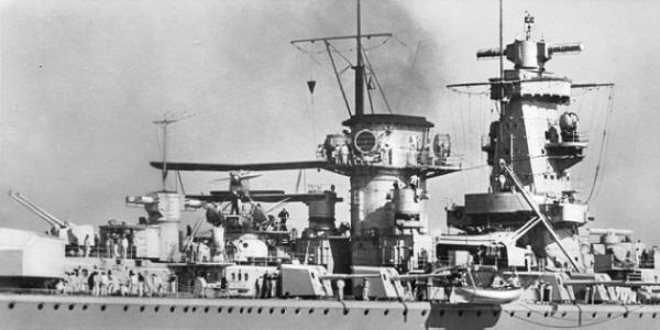 Тяжелый крейсер «Admiral Scheer»