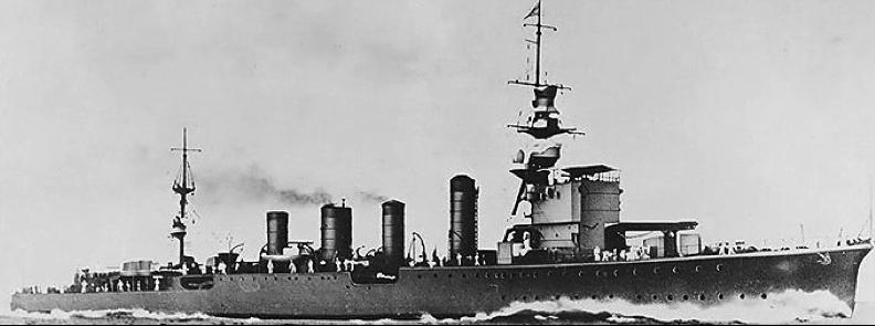 Легкий крейсер «Sendai»
