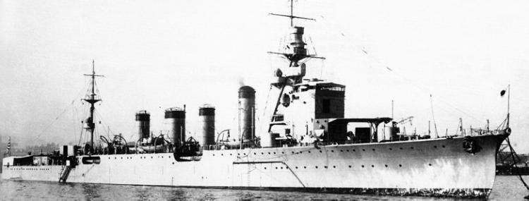 Легкий крейсер «Naka»