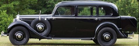 Седан Мercedes-Benz 320 (W-142 IV)
