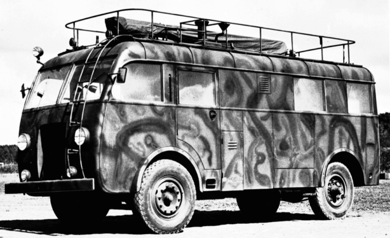 Автобус Scania-Vabis 8116 (TRM9)