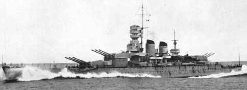 Линейный корабль «Littorio»