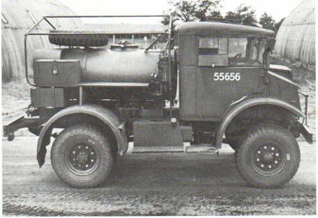 Топливозаправщик на базе Chevrolet C-15А