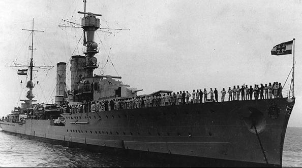 Легкий крейсер «Emden»