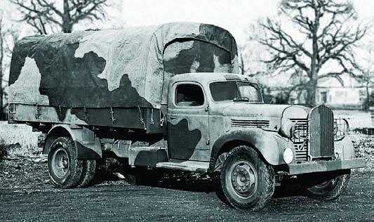 Бортовой грузовик Dodge VK-62B с тентом