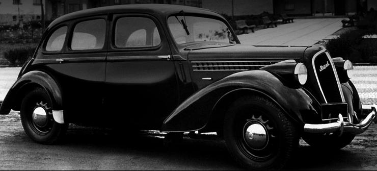 4-дверный седан Skoda Rapid (Type-901)