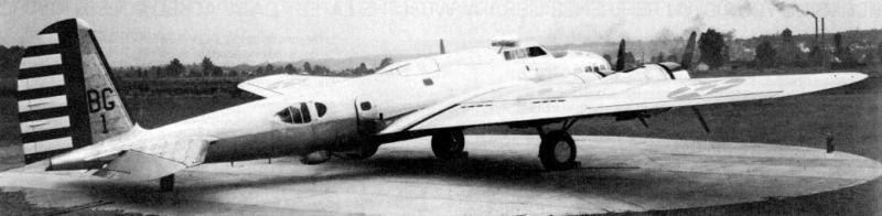 Бомбардировщик Boeing B-17В
