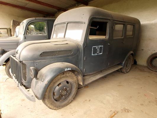 Фургон на базе грузовика Steyr 2000-А