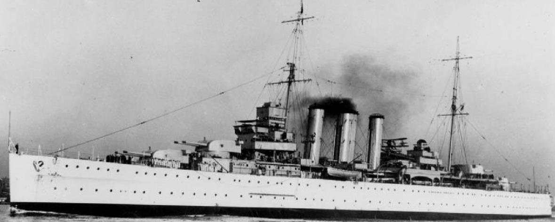 Тяжелый крейсер «Kent»