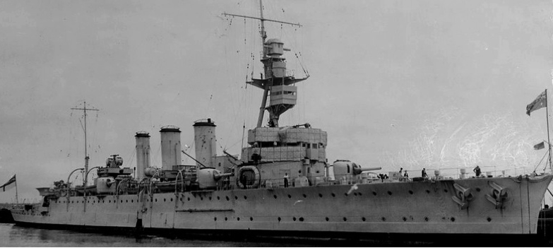 Легкий крейсер «Adelaide»