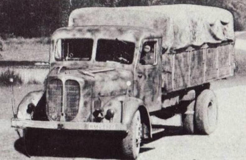 Грузовик Saurer 4-BTDVS