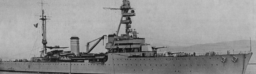Тяжелый крейсер «Tourville»