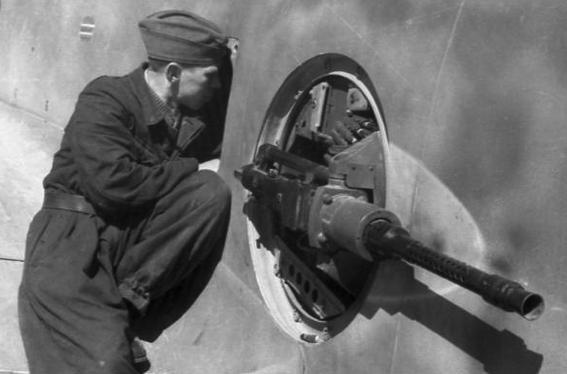 Авиационный крупнокалиберный пулемет MG-131