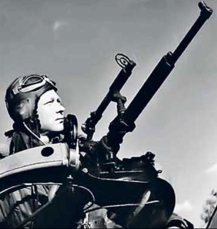 Одинарный турельный пулемет ШКАС