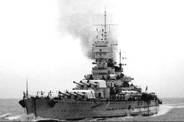 Линейный корабль «Vittorio Veneto»