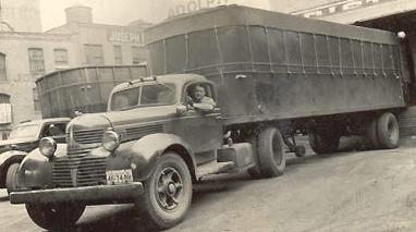 Седельный тягач Dodge VK-62B