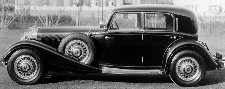 Седан Mercedes-Benz 380 (W-22)
