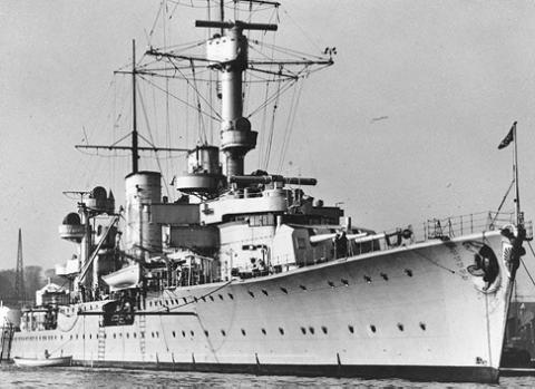 Легкий крейсер «Konigsbtеg»