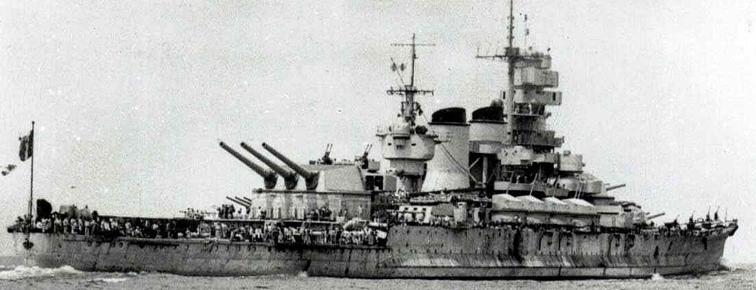 Линейный корабль «Roma»