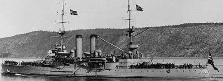 Броненосец береговой обороны «Norge»