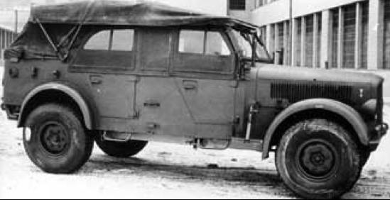 Внедорожник Skoda Superb 3000 (Type-956, Kfz-15)
