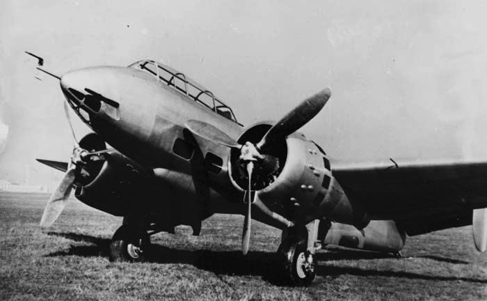 Бомбардировщик Bloch MB.170