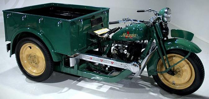 Трехколесный грузовик Mazda-go DA