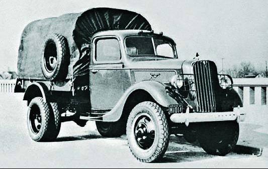Грузовик Ford-Marmon-Herrington V8 (С5-6)