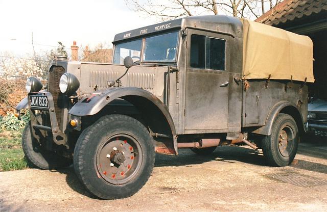 Автомобиль Humber FWD пикап